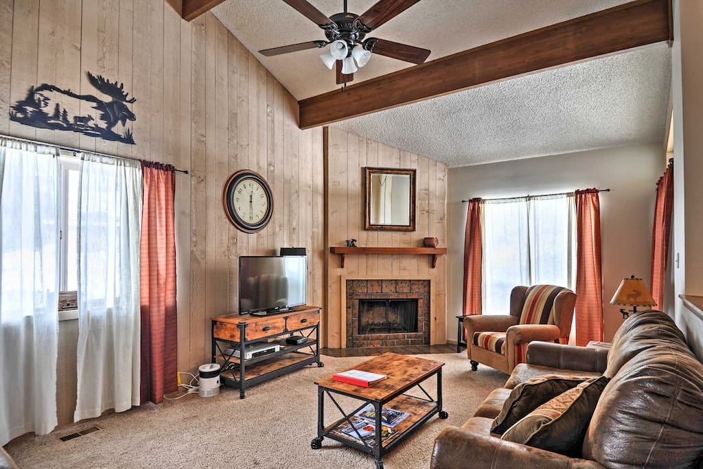 Escape to this cozy 2BR Pagosa Springs vacation rental condo.