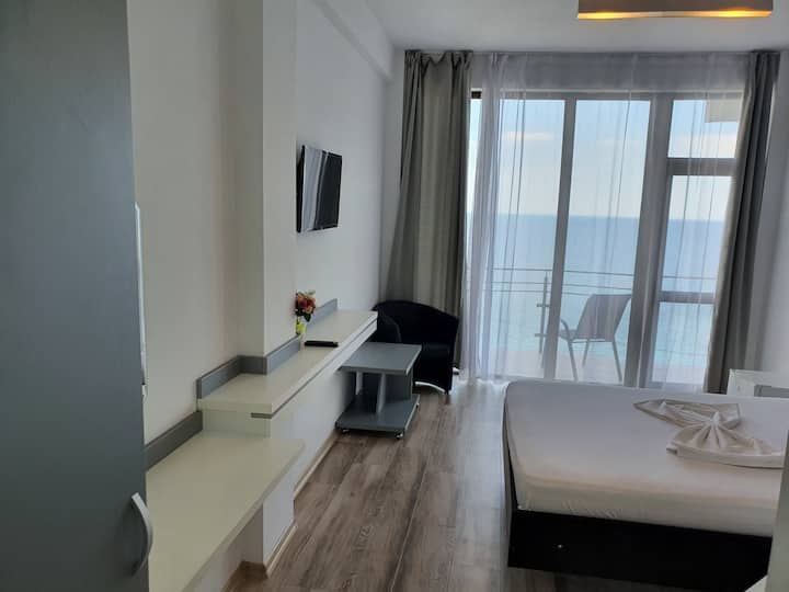 Large room with sea view
