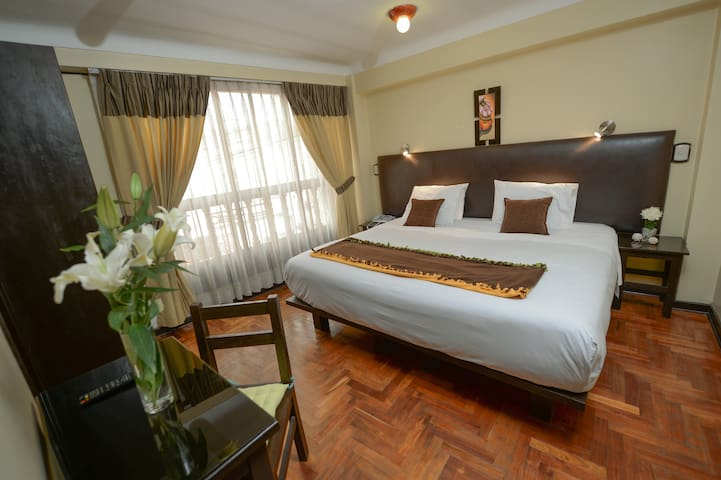 Tecte Guest House. Double bed room