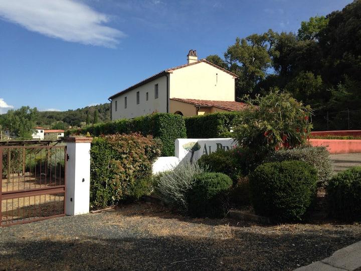Casa vacanze Casale al Pino10' da Marina di Cecina