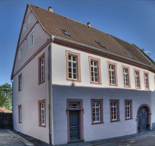 Stay at our beautiful baroque villa - Oppenheim - Byt