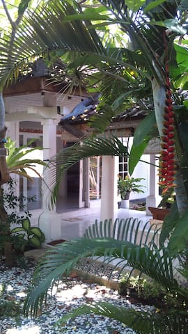 typical bali style house