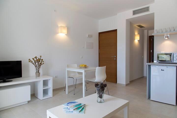 Apartamento con terraza (3 personas)