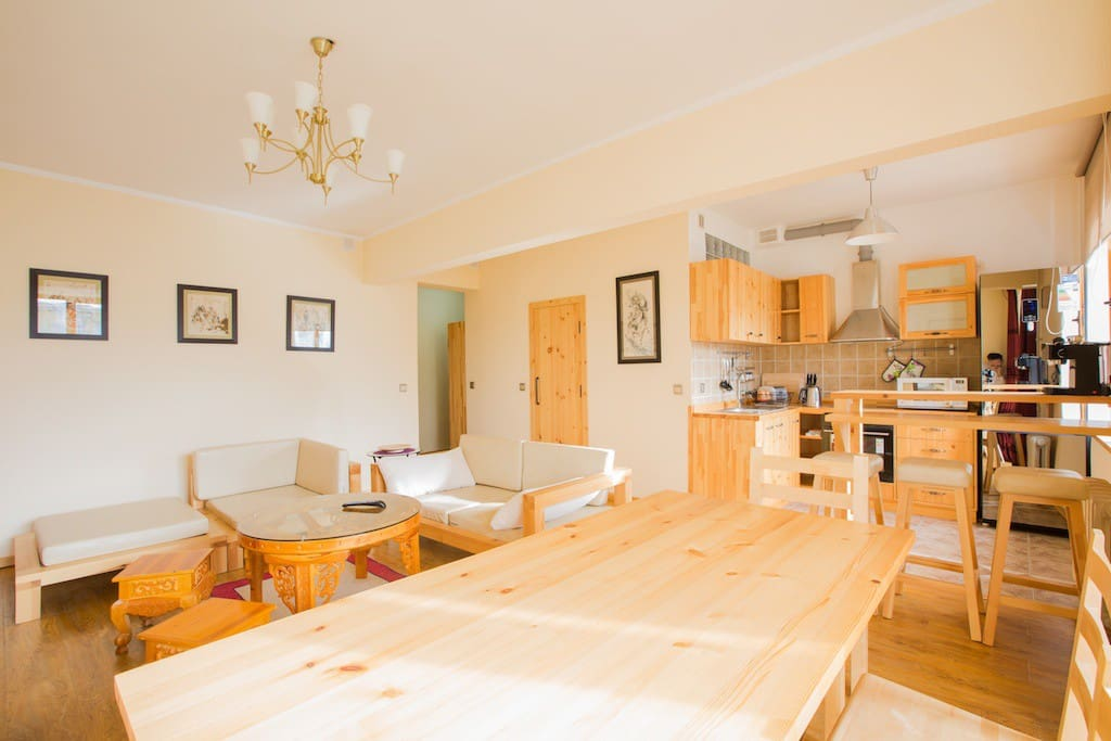 It is extremely well equipped and fitted with all brand new furniture and electronical appliances, perfect for the long winters and cold nights.