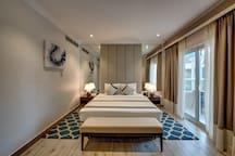 LAVISH BRAND NEW HOTEL ROOM- NEAR MALL OF EMIRATES
