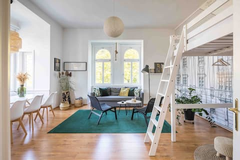 65 m2 design lakás a centrumban