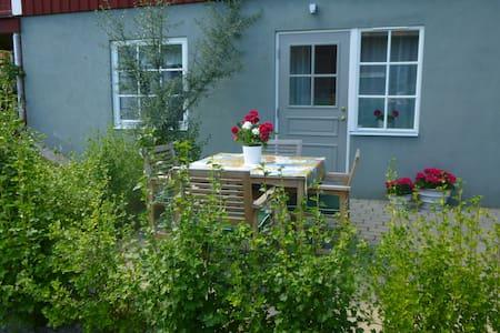 Modernt boende med privat uteplats - Leksand NV - Cottage
