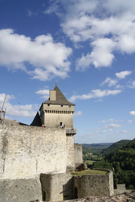 Castelnaud, one of the many chateaux in the area, including the Chateau des Milandes, the home of Josephine Baker the legendary singer and dancer