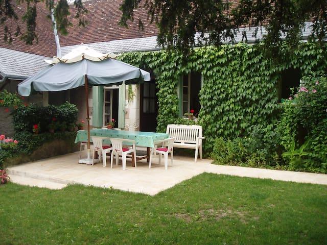 MAISON TOURANGELLE proche d'AMBOISE - Saint-Martin-le-Beau - Huis
