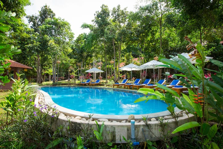 phu quoc valley resort Family two bedrooms villa