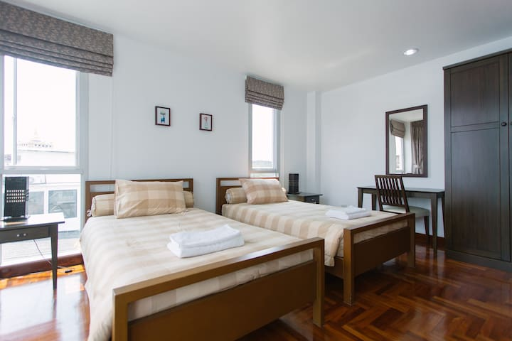 Beautiful Room within Heritage zone - กรุงเทพมหานคร - Apartament