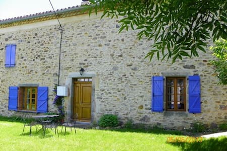 spacious gite tarn albi cordes - laparrouquial - House