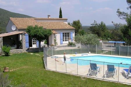 maison de vacances à la campagne - Pompignan - Huis