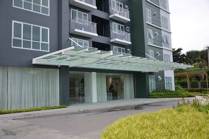 Main entrance of the condo.