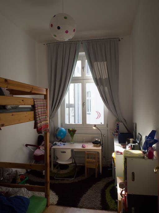 Room 2, bunk bed (2 single)