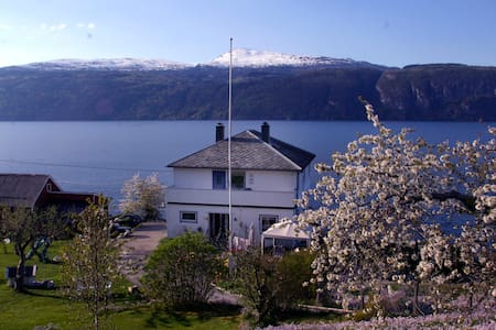 Much loved house by the fjord - Utvik - Hus