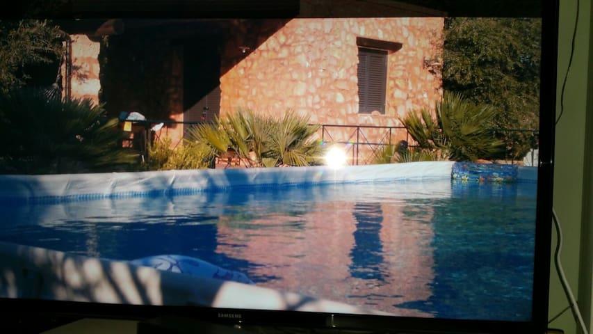 Villetta con piscina 4 - San Gregorio - House