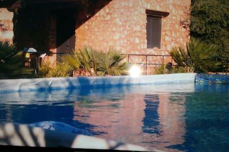 Villetta con piscina 4 - San Gregorio - Maison