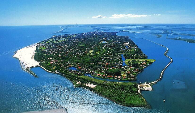 Isola privata di Albarella