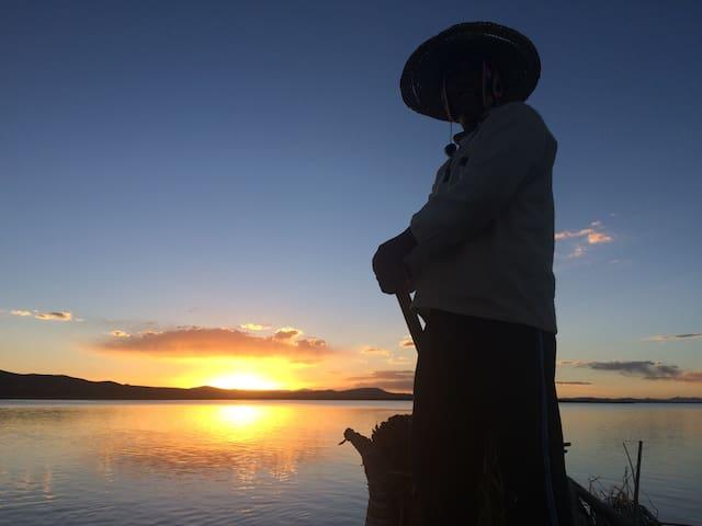 Casitas del Titicaca