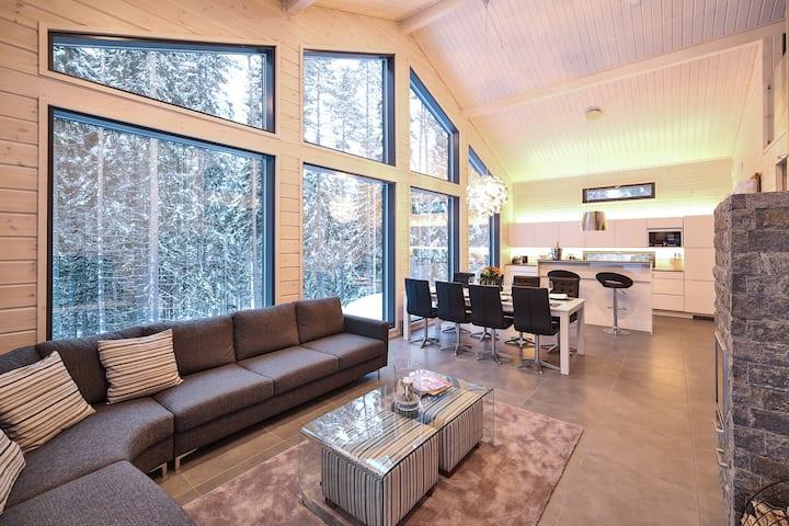 Villa Borealis luxury chalet for 13