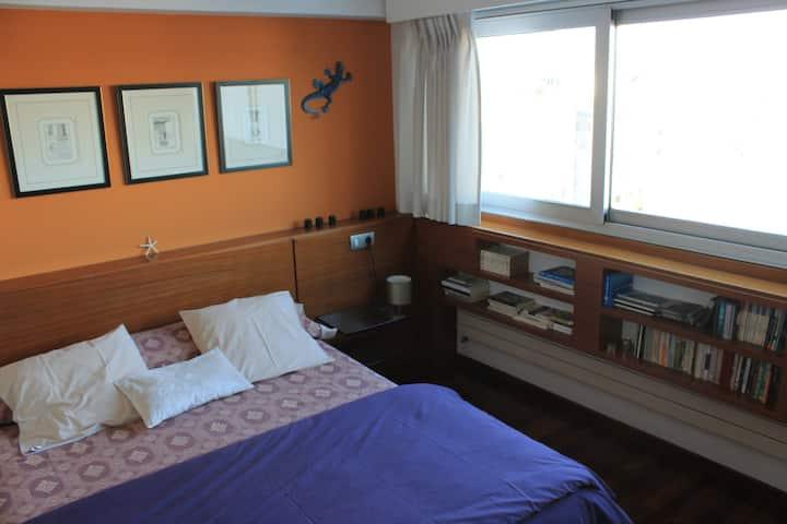 Habitación con vistas en  A Coruña