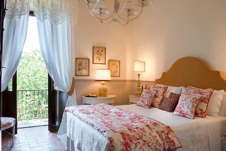 Deluxe rooom with queen bed and balcony