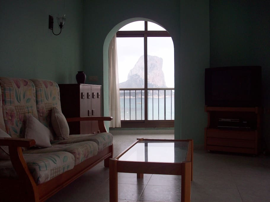 Looking through lounge towards the Penon and conservatory balcony