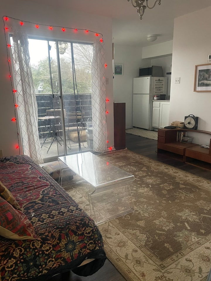 Entire 1/1 condo furnished monthly 5 min from lake