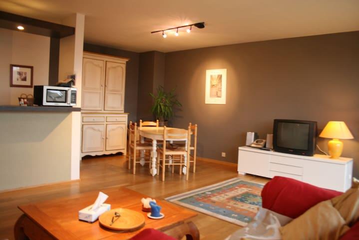 Warm apartment with sun terrace - Koksijde - Apartamento
