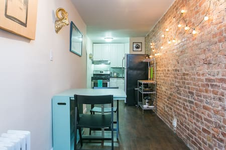 City in 15! Big room, awesome apt!! - Brooklyn - Apartment