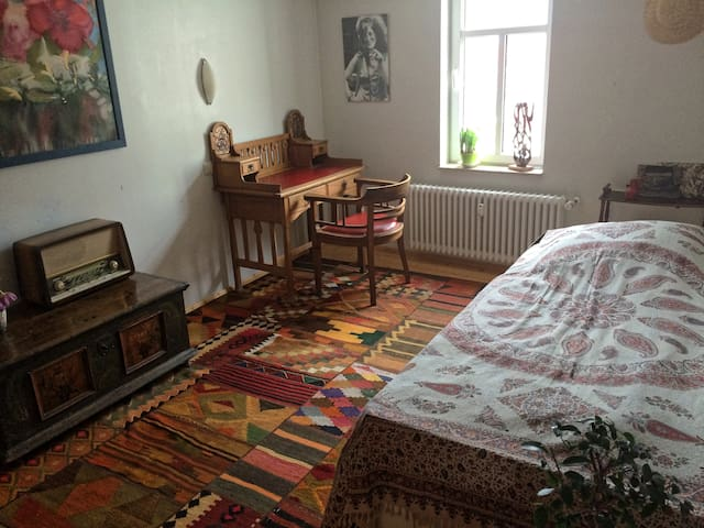 Traumhaftes Zimmer im Zentrum Jenas - Jena - Departamento