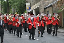 Uppermill is the largest of the 13 villages in Saddleworth, home to the annual and word famous Whit Friday Band Contest