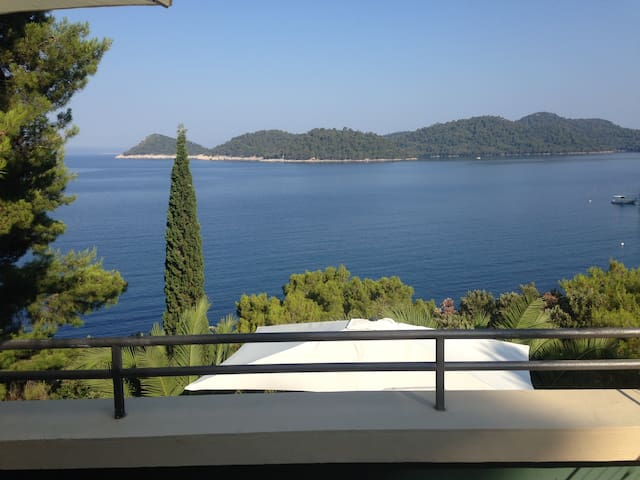 5m from sea,beach next to house - Lastovo - Talo