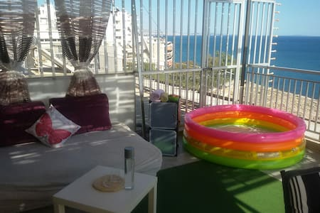 Nice Studio with fantastic sea view - Pireas - Appartement