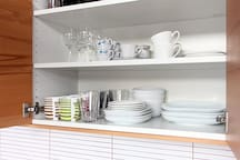 W pełni wyposażona kuchnia / Fully equipped kitchen