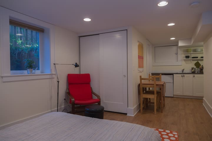 Bright and Cozy Studio
