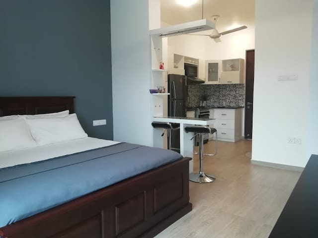Brand New Modern Self Contained Studio Apartment