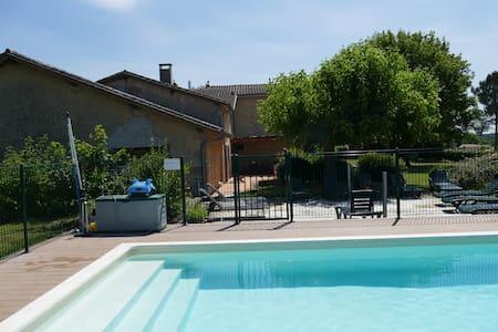 Propriété familiale en Gironde à 25 mn de Bordeaux - Bazas