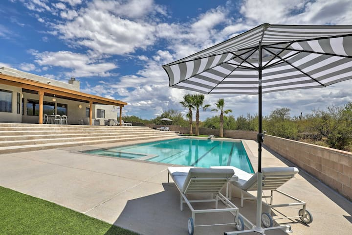 Secluded Tucson House w/ Pool - 18 Mi. to UA!