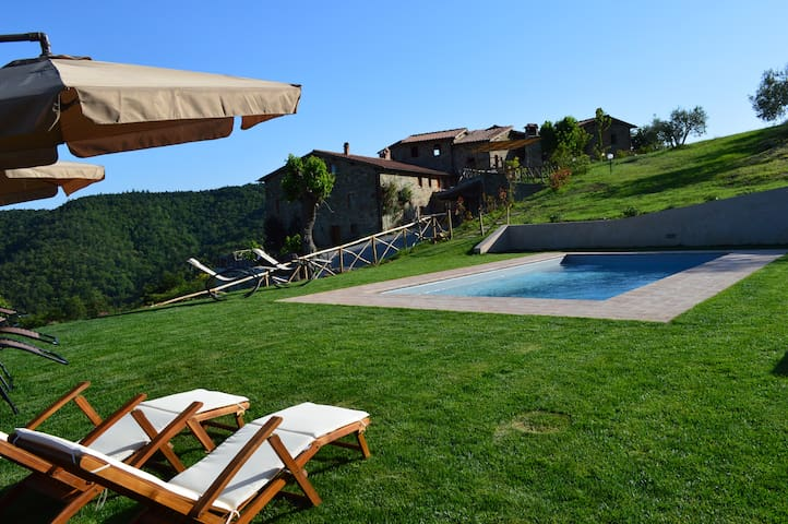 Villa Podere Terrena with private pool. - Gaiole In Chianti