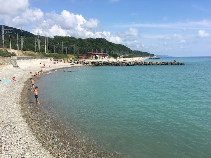 Отдых на Чёрном море, посёлок Верхнее Макопсе