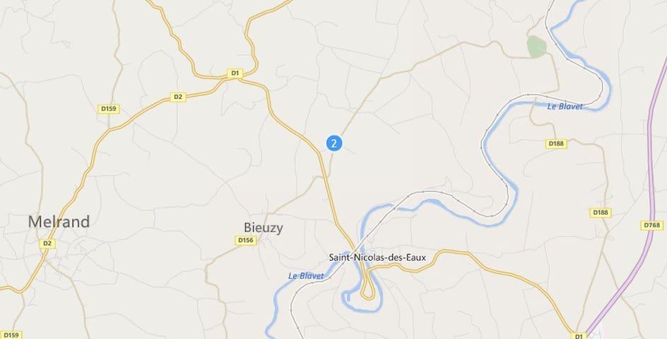 maison au calme à la campagne - Bieuzy - Talo
