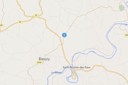 maison au calme à la campagne - Bieuzy