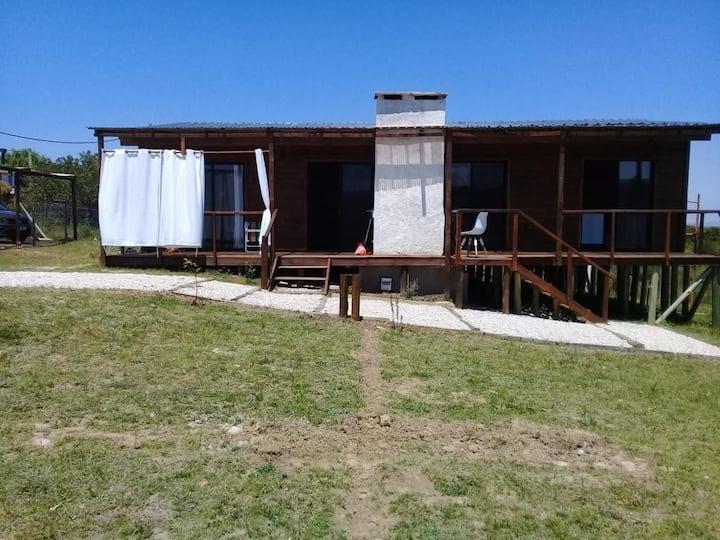 Dos dormitorios para 4 personas  en Punta Negra.