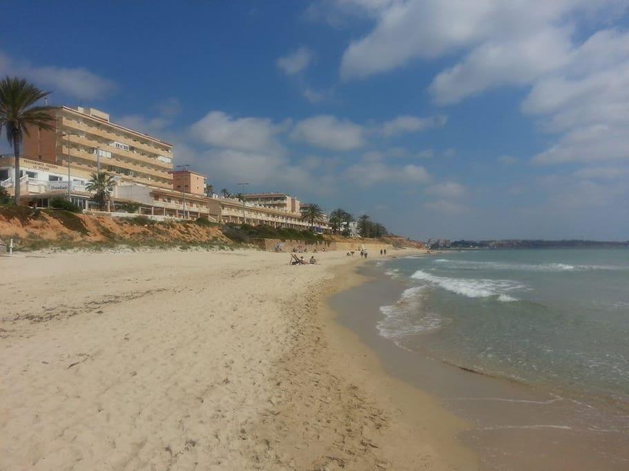 Playa arena blanca