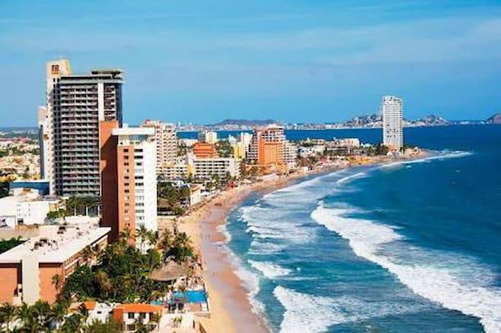 EXCELENT STUDIO CLOSE TO BEACH - Mazatlán - Apartemen