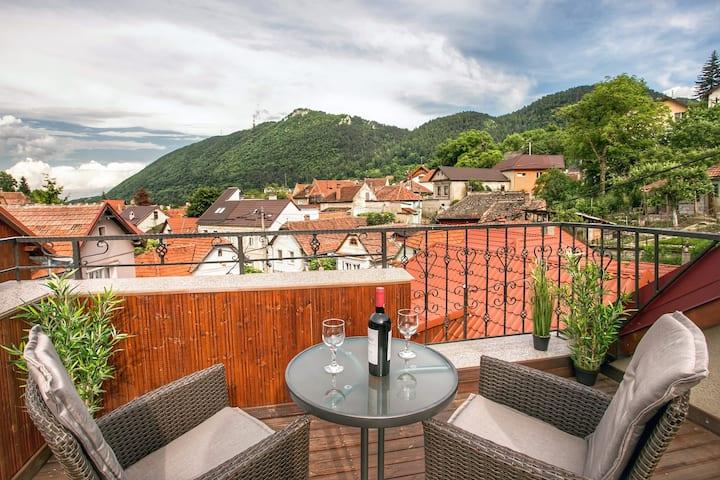 Spacious Studio w. Views & Rooftop Terrace - No. 3