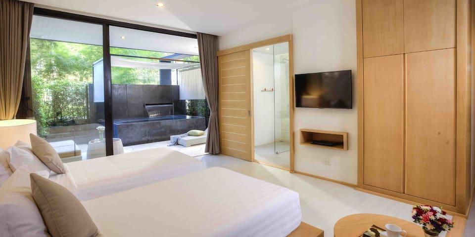 Botanica Studio with Plunge Pool - Tambon Mu Si - Apartamento