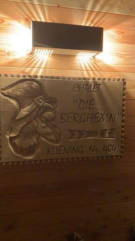"""Chalet""""Die Berghex'n """""""